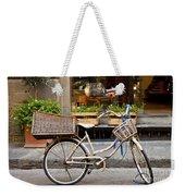 Florence Bicycle  Weekender Tote Bag