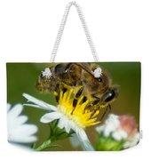 Flowering Bee Weekender Tote Bag
