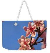 Flowering Peach Tree Weekender Tote Bag