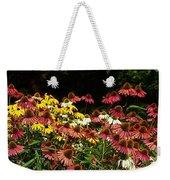 Flowers Gone Wild Weekender Tote Bag