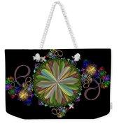 Flowers Weekender Tote Bag by Sandy Keeton