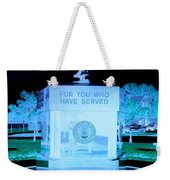 For Those Who Have Served Weekender Tote Bag