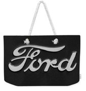 Ford Emblem Weekender Tote Bag