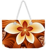 Fractal Fantasy Flowers Weekender Tote Bag