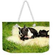 French Bulldoggs Weekender Tote Bag
