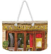 French Storefront 1 Weekender Tote Bag