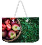 Fresh Picked Apples Weekender Tote Bag