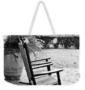 Front Porch Rockers - Bw Weekender Tote Bag