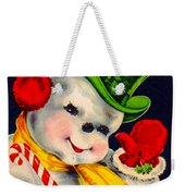 Frosty The Snowman Weekender Tote Bag