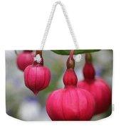Fuchsia Named Dark Eyes Weekender Tote Bag