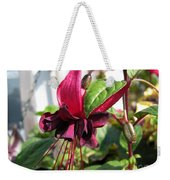 Fuchsia Named Roesse Blacky Weekender Tote Bag