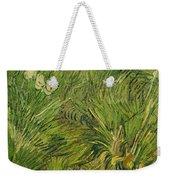 Garden With Butterflies Weekender Tote Bag