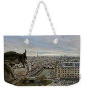Gargoyle Overlooking Paris Weekender Tote Bag