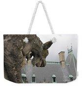 Gargoyles On Roof Of Biltmore Estate Weekender Tote Bag