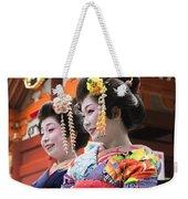 Geishas Senso Ji Weekender Tote Bag