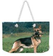 German Shepherd Weekender Tote Bag