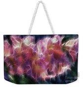 Gladiola Nebula Weekender Tote Bag