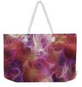 Gladiola Nebula Triptych Panel 2 Weekender Tote Bag