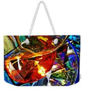 Glass Abstract 691 Weekender Tote Bag
