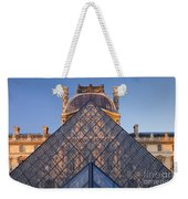 Glass Pyramid At Musee Du Louvre Weekender Tote Bag