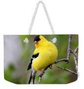 Gold Finch Weekender Tote Bag