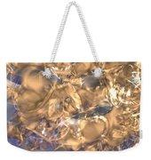 Golden Synapse Weekender Tote Bag