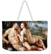 Goltzus' The Fall Of Man Weekender Tote Bag