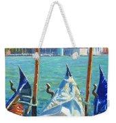 Gondolas And San Giorgio Maggiore Venice Weekender Tote Bag