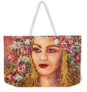 Good Fortune Goddess Weekender Tote Bag