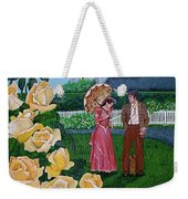 Grace Under The Parasol Weekender Tote Bag
