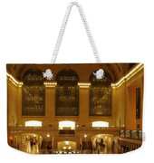 Grand Central Station Weekender Tote Bag by Dan Sproul