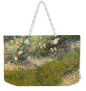 Grass And Butterflies Weekender Tote Bag