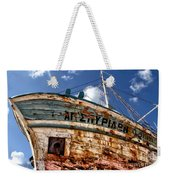 Greek Fishing Boat Weekender Tote Bag