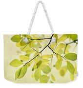 Green Foliage Series Weekender Tote Bag