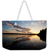 Greenlake Sunset Weekender Tote Bag