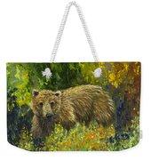 Grizzly Study 2 Weekender Tote Bag
