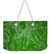 Guatemala Street Map - Guatemala City Guatemala Road Map Art On  Weekender Tote Bag