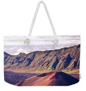 Haleakala Sunrise On The Summit Maui Hawaii - Kalahaku Overlook Weekender Tote Bag