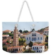 Halki Island Greece Weekender Tote Bag