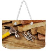 Hammer And Nails  Weekender Tote Bag