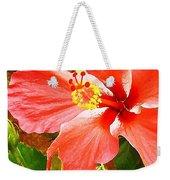 Happy Hibiscus Weekender Tote Bag