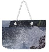 Hawaii Big Island Coastline V2 Weekender Tote Bag