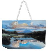 Hawaiian Wave Pool At Dusk Weekender Tote Bag