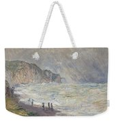 Heavy Sea At Pourville Weekender Tote Bag