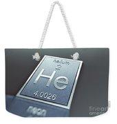 Helium Chemical Element Weekender Tote Bag