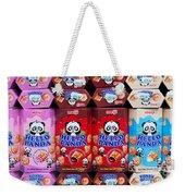 Hello Panda Biscuits Weekender Tote Bag