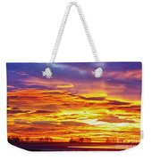Here Comes The Sun Weekender Tote Bag