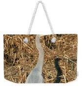 Heron In Shadow Weekender Tote Bag