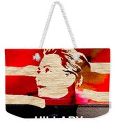 Hillary Clinton 2016 Weekender Tote Bag by Marvin Blaine