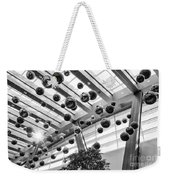 Holiday Glass Ornament Decorations At The Aria Resort And Casino Weekender Tote Bag